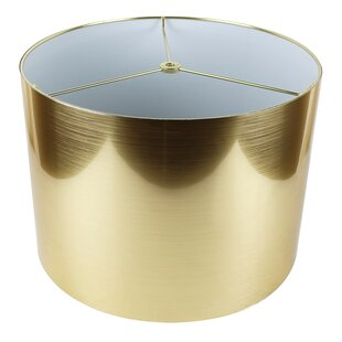 Gold metallic lamp shade wayfair save to idea board gold aloadofball Image collections