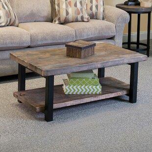 Somers 42 Wood Metal Coffee Table