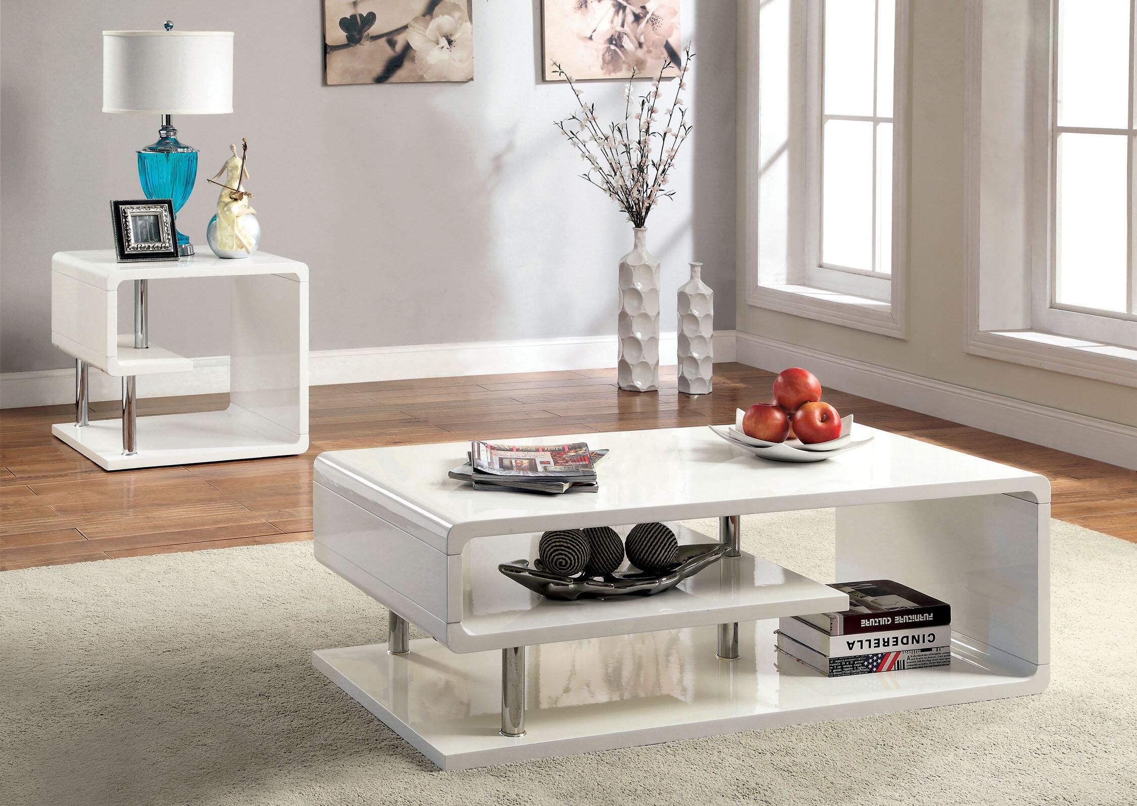 Wade Logan Luther Coffee Table Set & Reviews | Wayfair