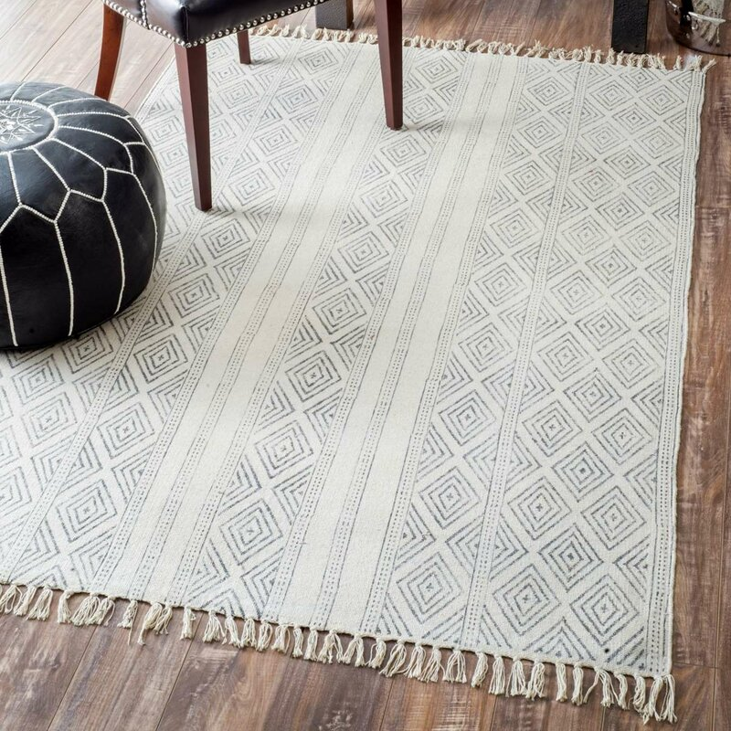 off white area rug. Dunkirk Handmade Off White Area Rug W