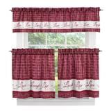 Fine Kitchen Curtains Valances Youll Love In 2019 Wayfair Download Free Architecture Designs Meptaeticmadebymaigaardcom