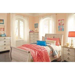 Algere Sleigh Configurable Bedroom Set