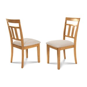 Chancey Soft Padded Dining Side Chair (Set of 2) by Alcott Hill