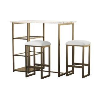 36bfd52179d4 Denham 3 Piece Pub Table Set