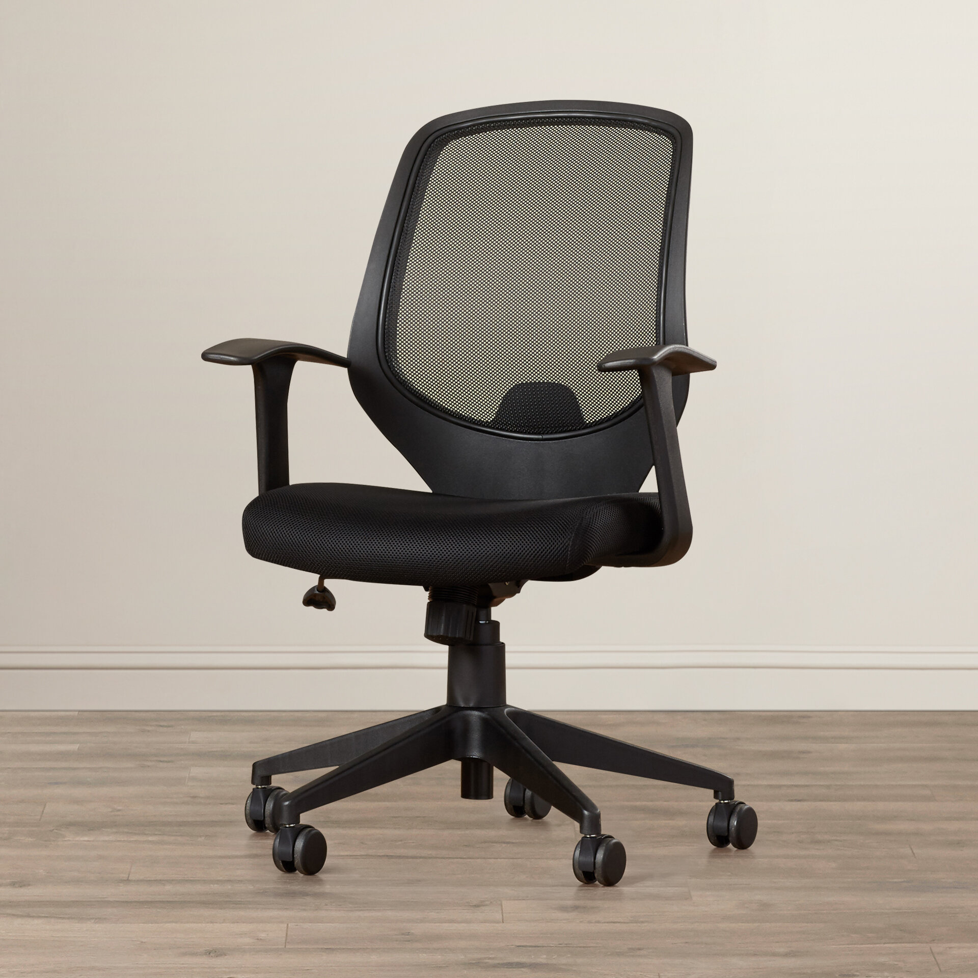 arms dynamo office black task operator chair with furniture featured mesh portland chairs shop image ii