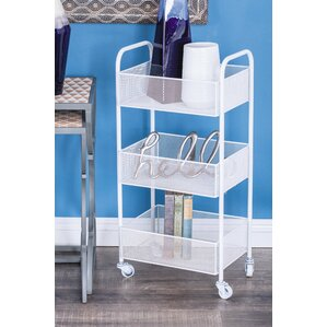 Metal Rolling Bar Cart by Cole & Grey