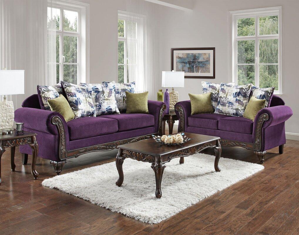 Chelsea Home Anna Configurable Living Room Set & Reviews   Wayfair