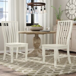 Fleeton Solid Wood Dining Chair (Set of 2)