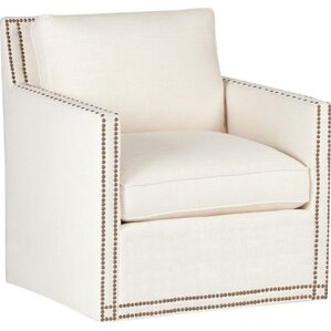 Carter Swivel Armchair by Gabby