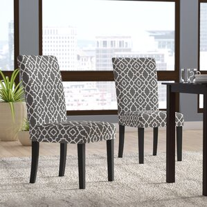 beufort upholstered dining chair set of 2