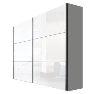 Schwebetürenschrank Solutions Bianco, 216 cm H x 250 cm B x 68 cm T von Express Möbel