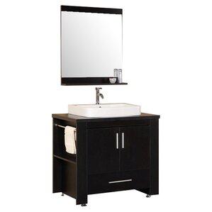Bathroom Vanity Black black 36 inch vanities you'll love | wayfair