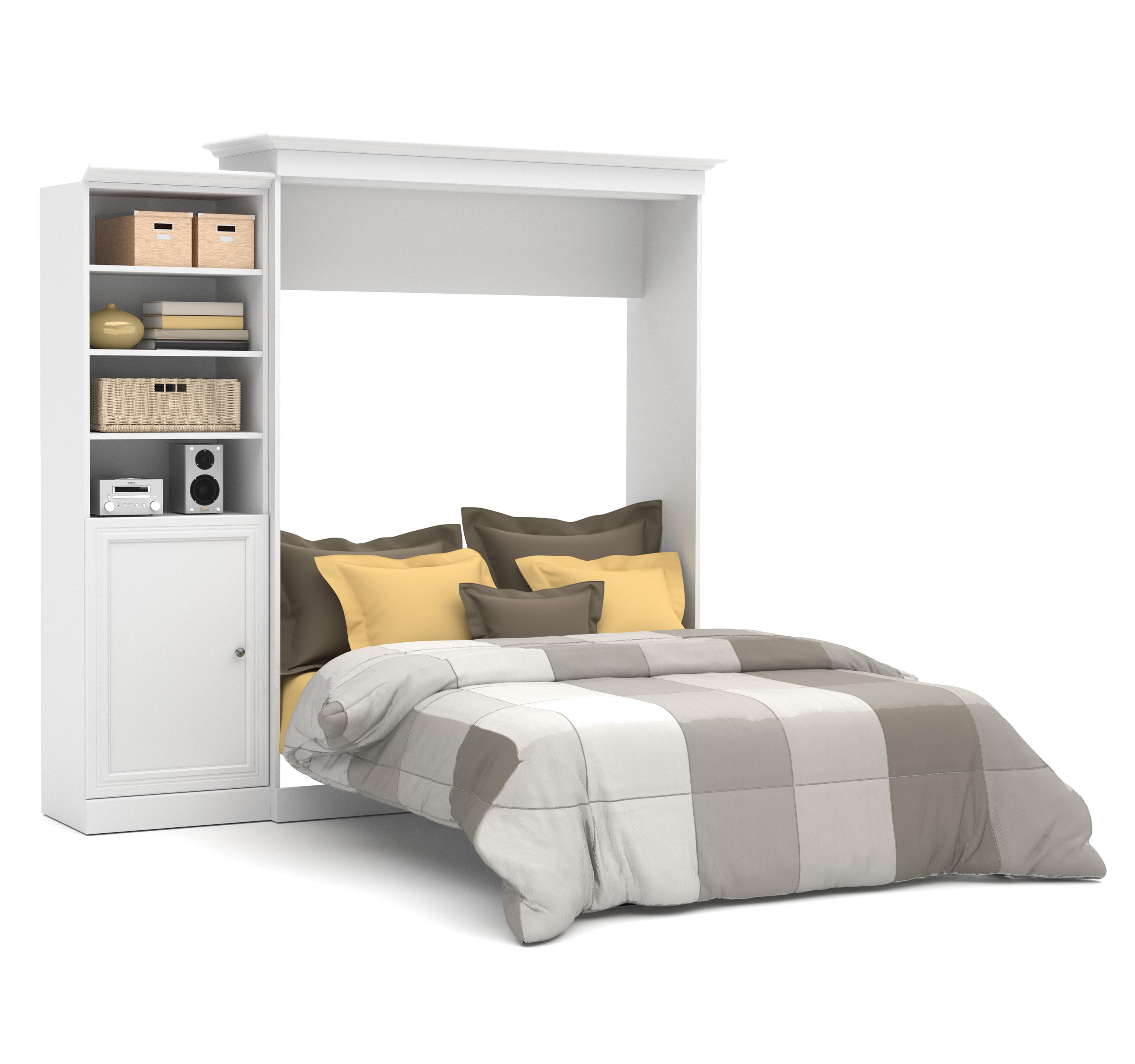 ana bed projects furniture white murphy diy queen