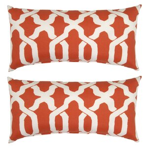 Shirley Outdoor Lumbar Pillow (Set of 2)