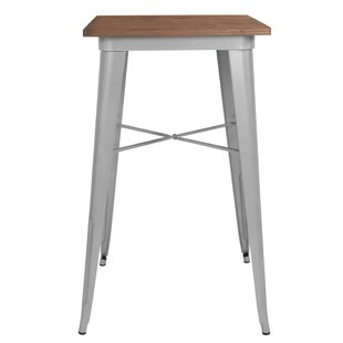 Wragby Rustic Metal Pub Table
