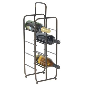 Dominque Contemporary Iron 8-Bottle Wine Bottle Rack by Williston Forge