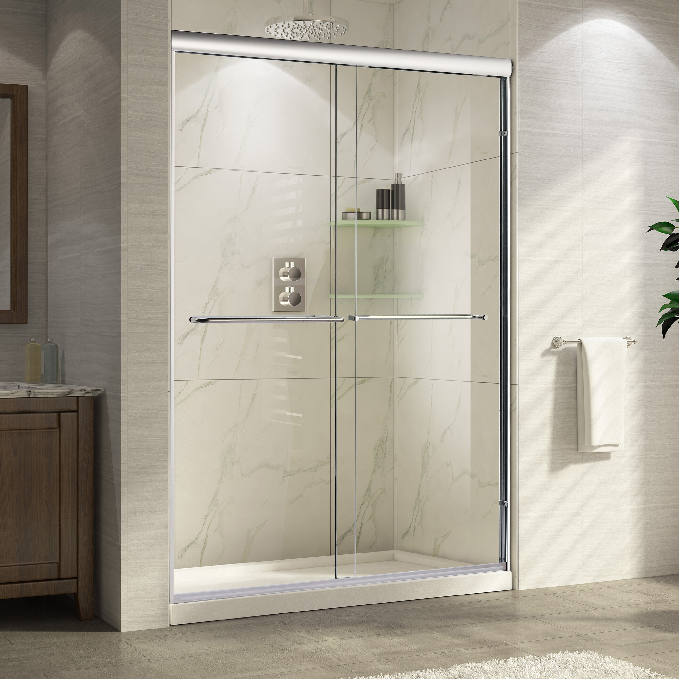 cdm george cdmi ut st enclosure serenity sliding doors shower