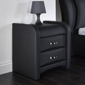 Buchan 2 Drawer Bedside Table