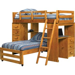 T Shaped Bunk Beds Wayfair