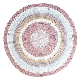 100% Cotton Rose Rug by Sebra