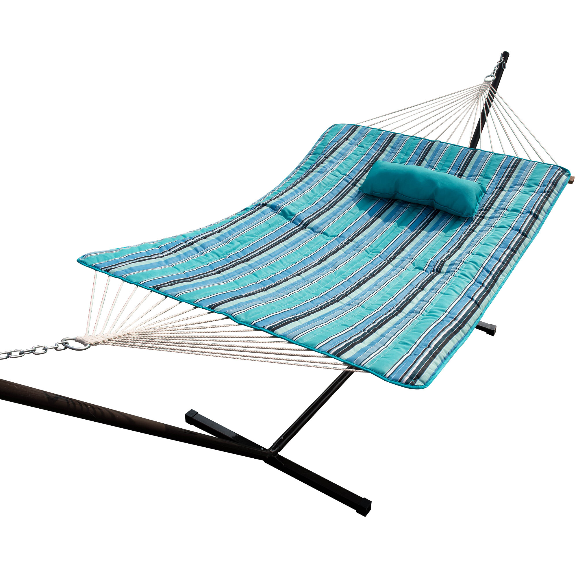 pillow capacity patio hammocks dsc seat with hammock chair daze drink throw lbs footrest and hanging pillows porch white lazy holder lounger swing lazydaze air green large black