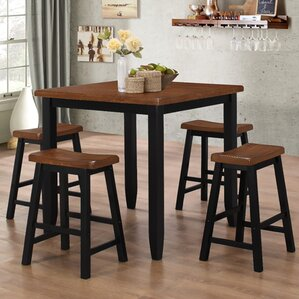 5 Piece Pub Table Set by LYKE Home
