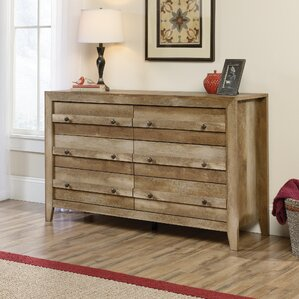 Signal Mountain 6 Drawer Double Dresser by Loon Peak