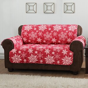 Innovative Textile Solutions Box Cushion Sofa Slipcover
