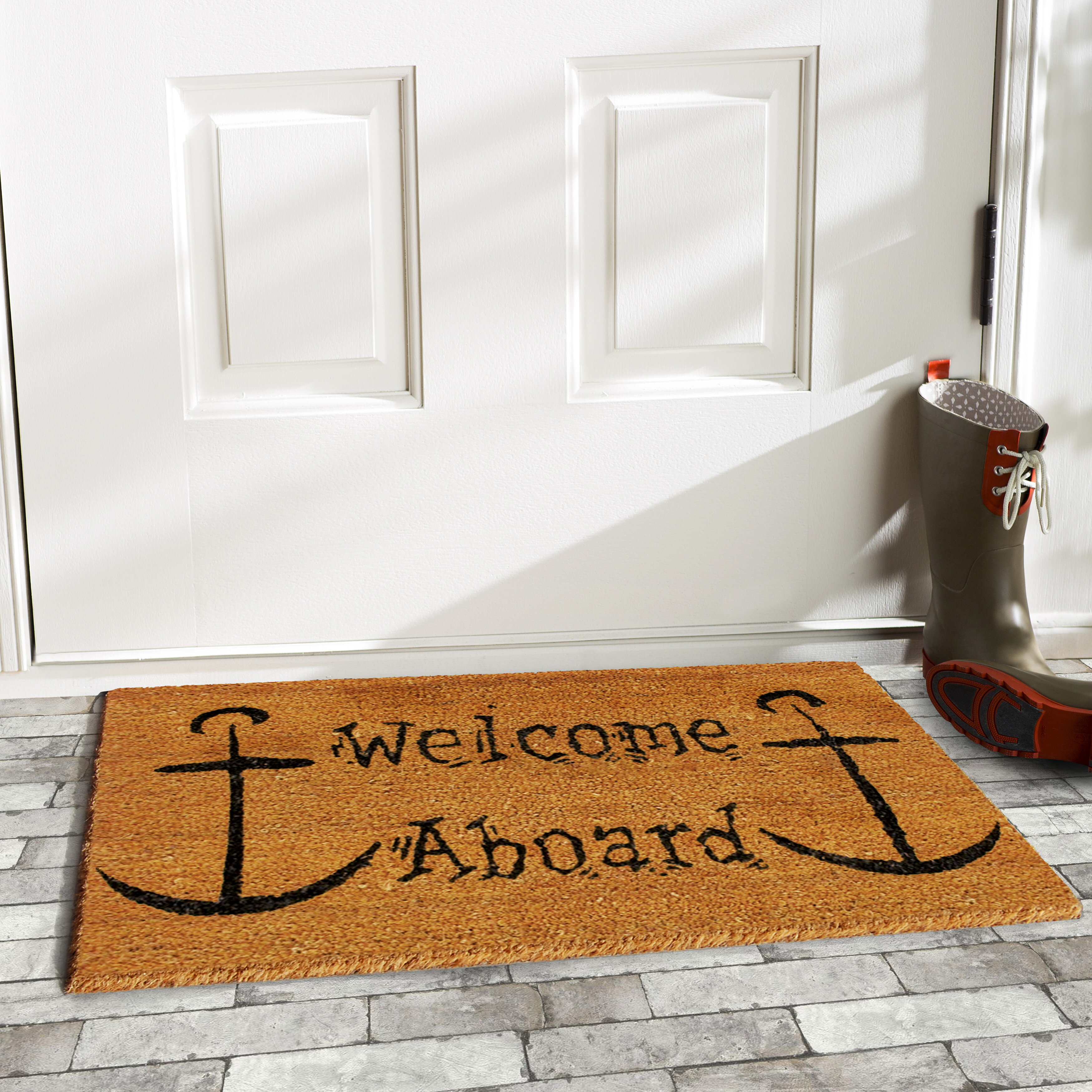 Home More Welcome Aboard Doormat Reviews Wayfair