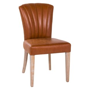 Scalloped Upholstered Dining Chair
