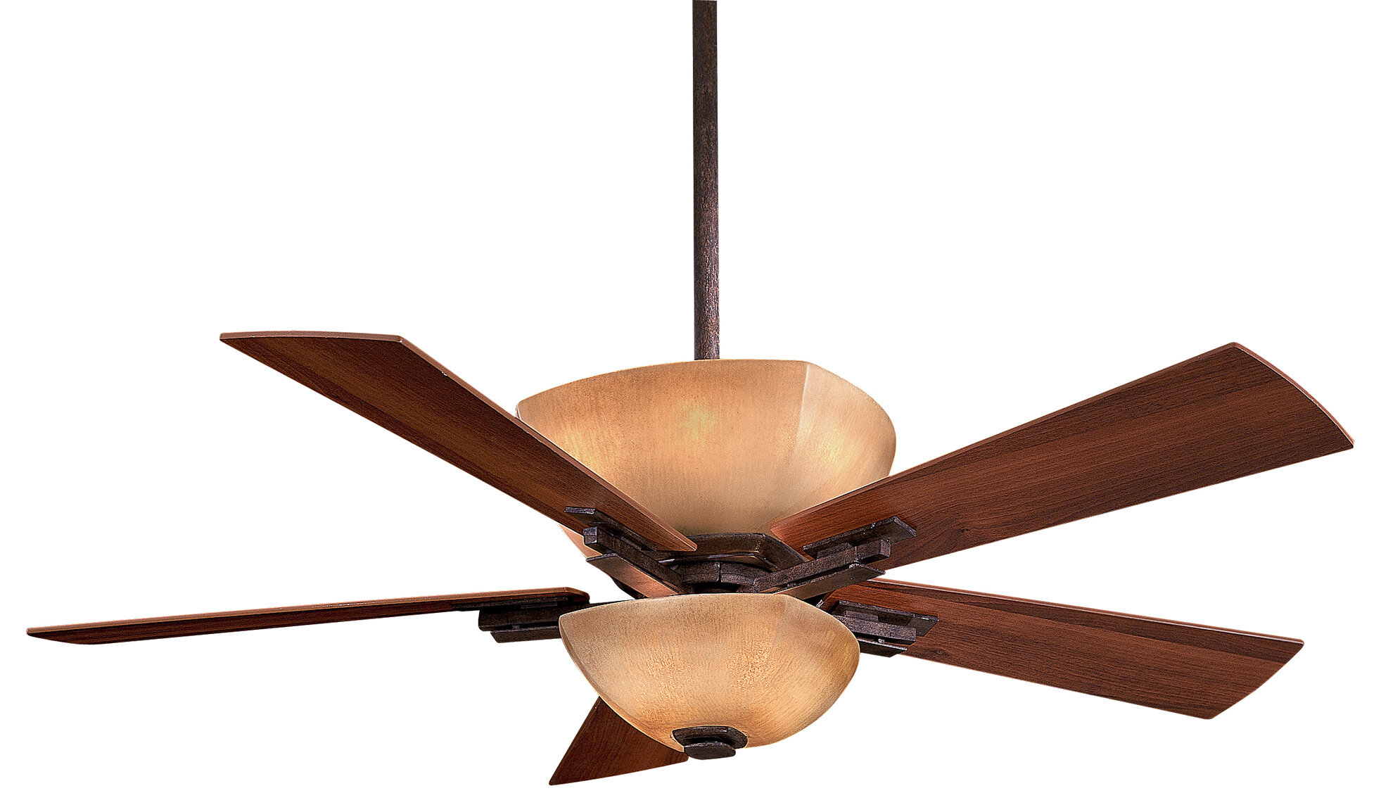 """Minka Aire 54"""" Lineage 5 Blade LED Ceiling Fan & Reviews"""