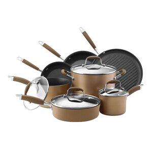 Advanced Nonstick 11 Piece Cookware Set
