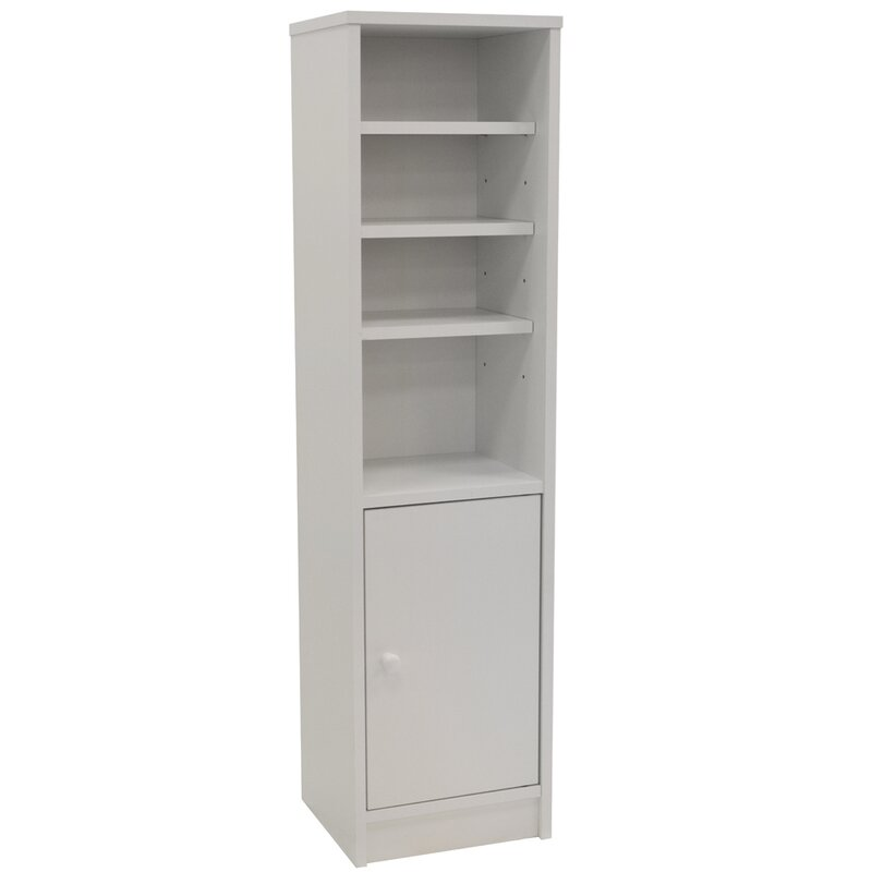 House Additions 28.5 x 109cm Free Standing Tall Bathroom Cabinet ...