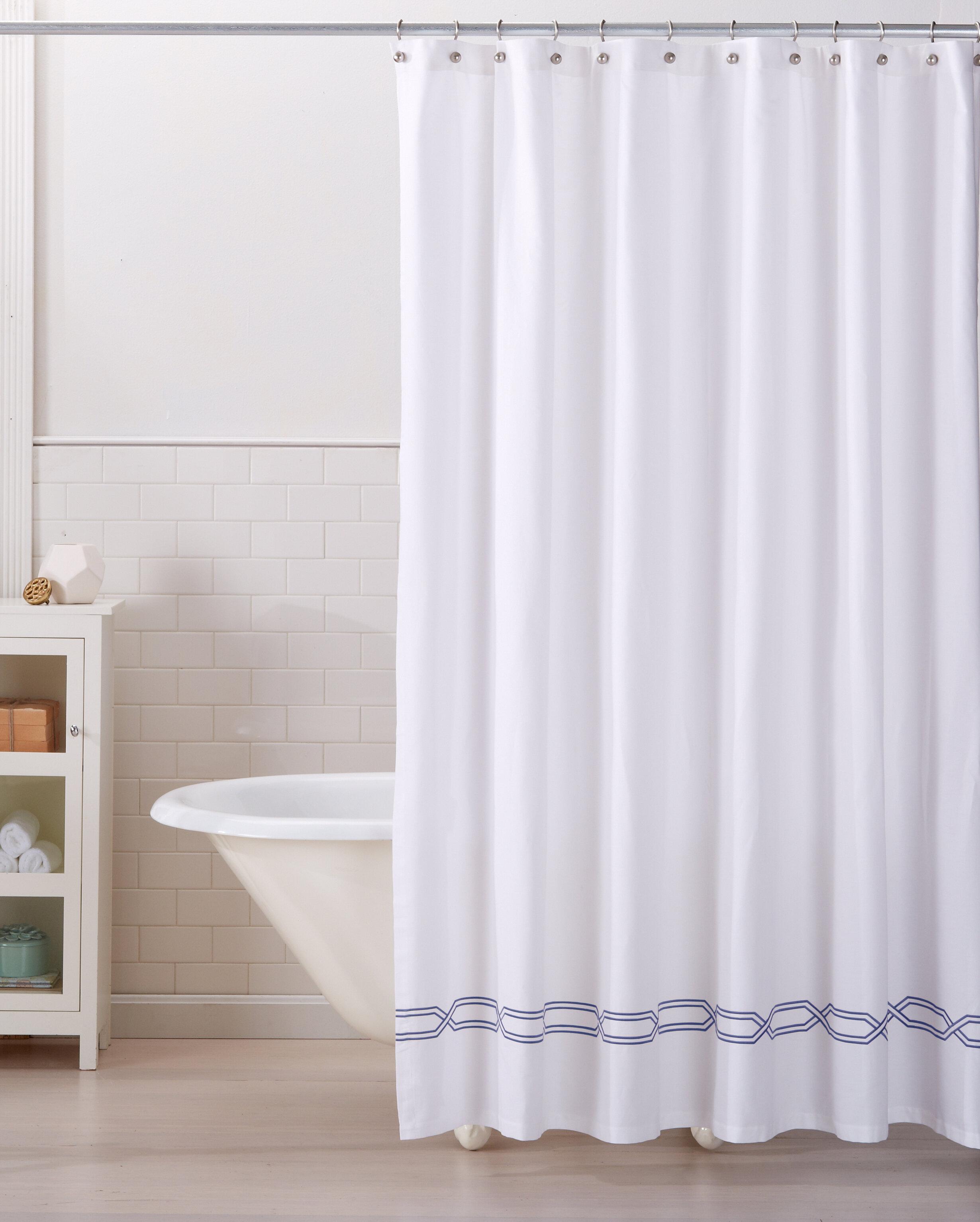 Home Fashion Designs Lucianna 100 Cotton Shower Curtain Reviews