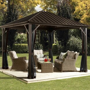 Dakota 10 Ft. W X 10 Ft. D Aluminum Patio Gazebo