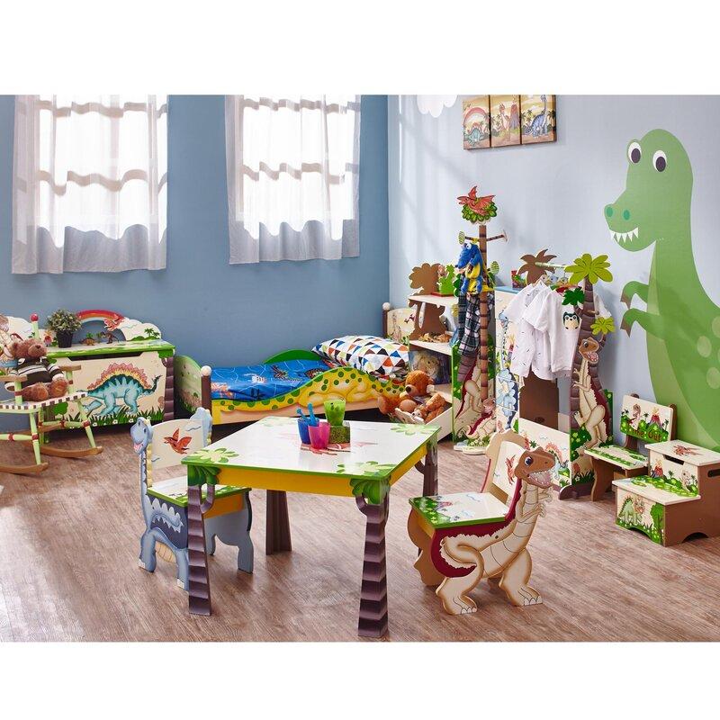 Fantasy Fields Dinosaur Kingdom Kids Step Stool With