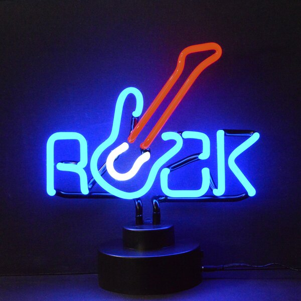 Neonetics Business Signs Rock Guitar Neon Sign Amp Reviews