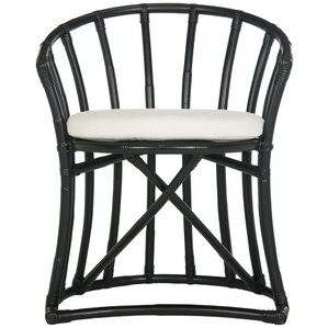 Howe Rattan Barrel Chair by Beachcrest Home
