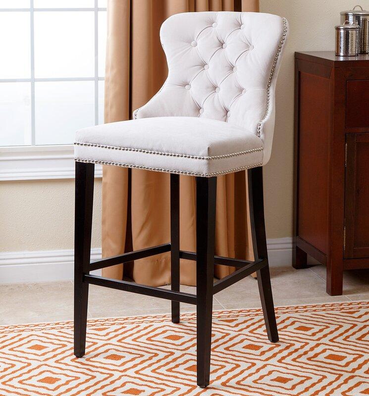 Willa arlo interiors zaphod 30 bar stool reviews wayfair - Willa arlo interiors keeley bar cart ...
