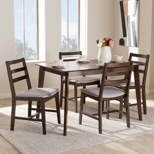 winfree upholstered 5 piece dining set - Full Dining Room Sets