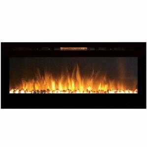 Sydney Pebble Wall Mount Electric Fireplace by Gibson Living