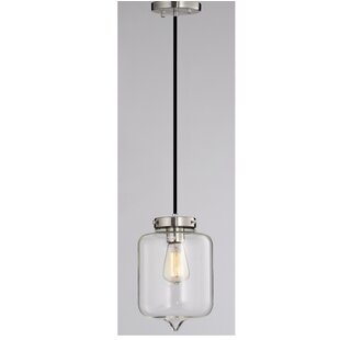Glass jar pendant light Pendulum Quickview Brushed Brassglass Wayfair Mason Jar Pendant Light Wayfair