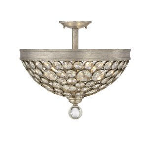 McKellen 3-Light Semi Flush Mount