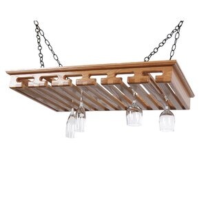 Hanging Wine Glass Rack by Laurel Highlands Woodshop