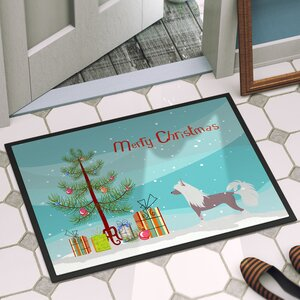Chinese Crested Door Mat