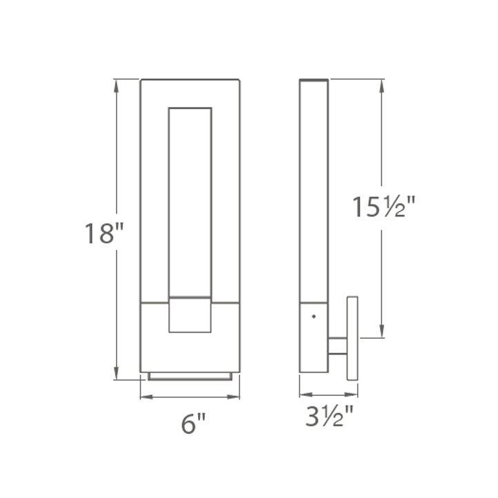 tetris 1 light flush mount - Tetris Planken