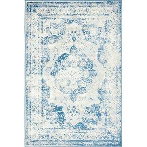 Brandt Tibetan Blue Area Rug