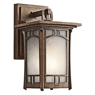 Kichler outdoor lights youll love wayfair soria 1 light outdoor wall lantern by kichler aloadofball