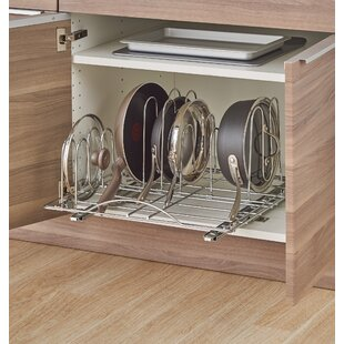 Sliding Pot Organizer Pull Out Kitchenware Divider & Cabinet Organizers Youu0027ll Love | Wayfair