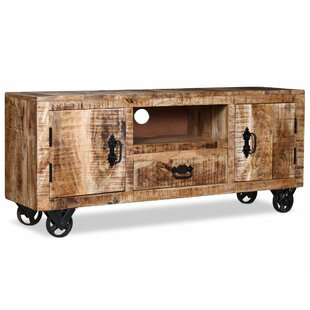 Aster Rough Mango Wood Tv Stand